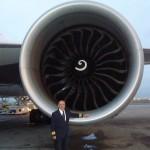 Engine size demo pose